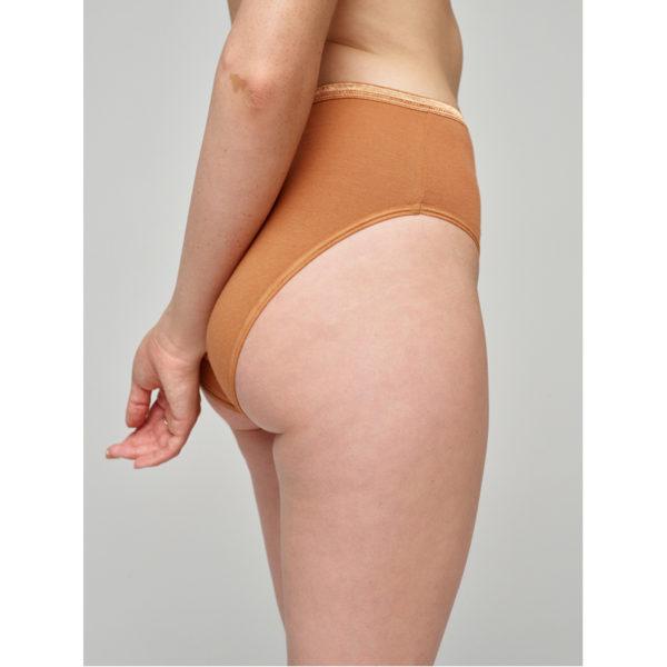 EarthHero - Organic Cotton Underwear High-Rise Brief - 5