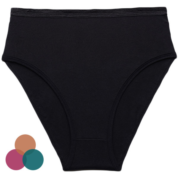 EarthHero - Organic Cotton Underwear High-Rise Brief - 1