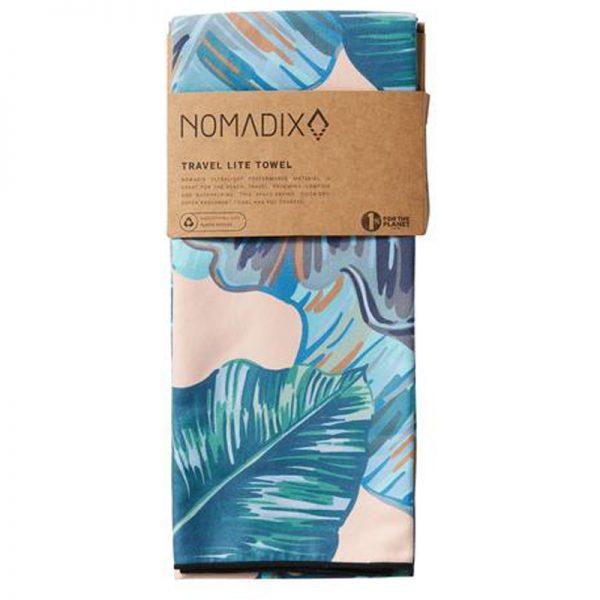 EarthHero - Nomadix Teal Banana Leaf Ultralite Travel Towel - 3