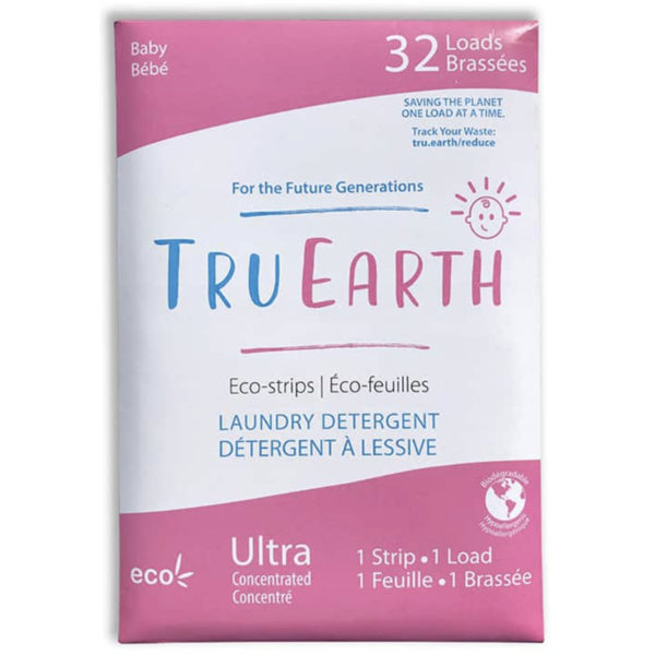 EarthHero - Baby Laundry Detergent Strips - 32 loads