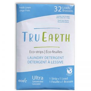 EarthHero - Fresh Linen Laundry Detergent Strips - 32 loads