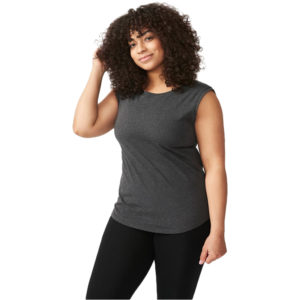 EarthHero - Organic Cotton Essential Women's Tank - Heather Grey