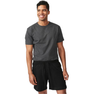 EarthHero - Organic Cotton Unisex Shorts - Black