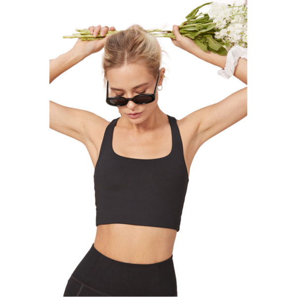 EarthHero - Black Girlfriend Collective Paloma Sports Bra -