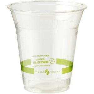 EarthHero - World Centric Clear Compostable Cold Cup 12oz - 1