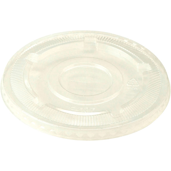 EarthHero - World Centric Clear Compostable Cup Lids  - 1
