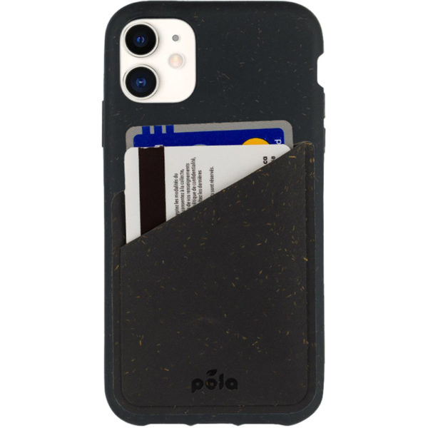EarthHero - Compostable Phone Case Card Holder - Black