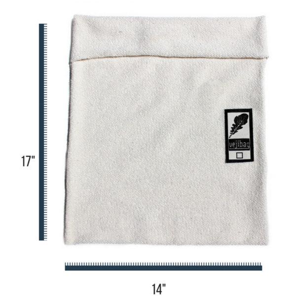EarthHero - Extra Large Organic Cotton Veggie Bag - 3