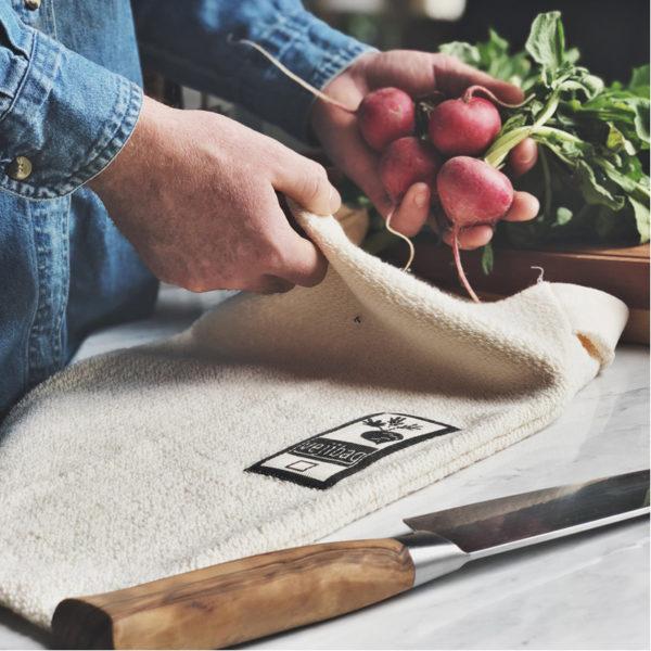 EarthHero - Extra Large Organic Cotton Veggie Bag - 4