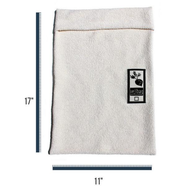 EarthHero - Large Organic Cotton Veggie Bag - 3