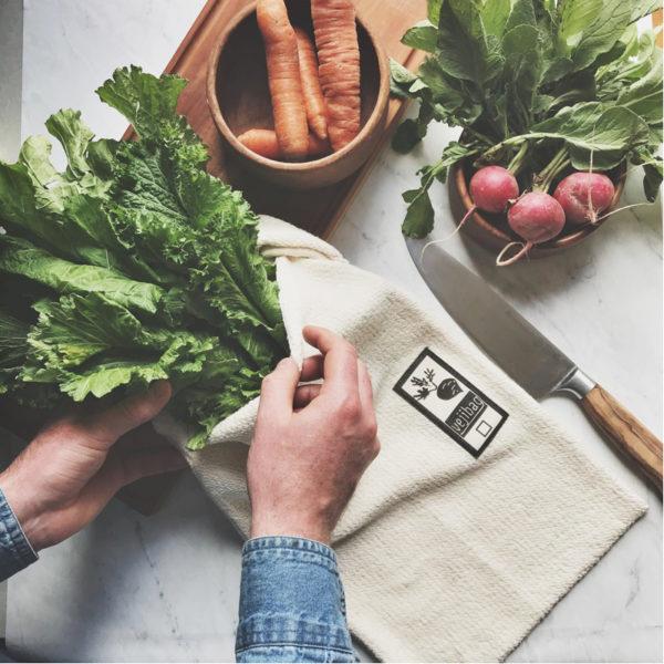 EarthHero - Large Organic Cotton Veggie Bag - 4