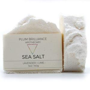 EarthHero - Lavender + Lime Salt Natural Soap Bar - 1