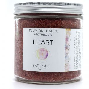 EarthHero - Rose Natural Mineral Bath Salts - 1