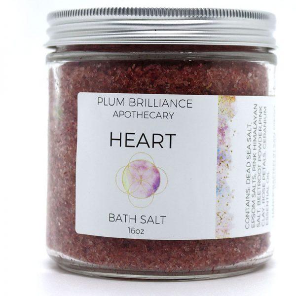 EarthHero - Rose Natural Mineral Bath Salts - 1