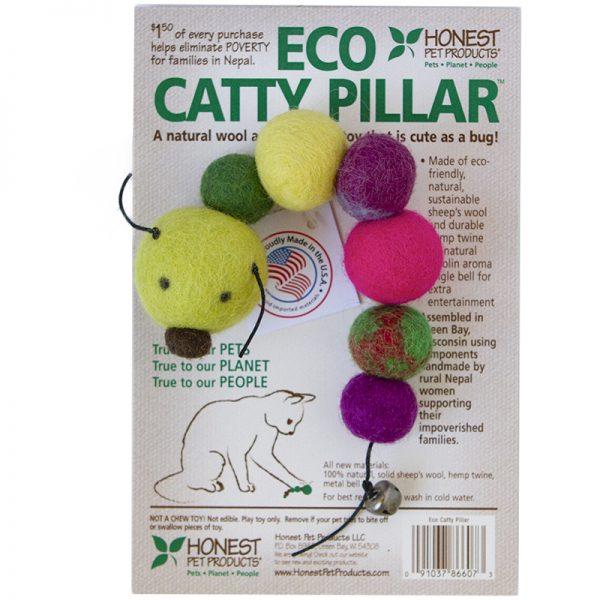 EarthHero - Eco Catty Pillar Cat Toy - 1