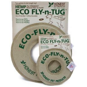 EarthHero - Eco Fly and Tug Dog Toy - 1