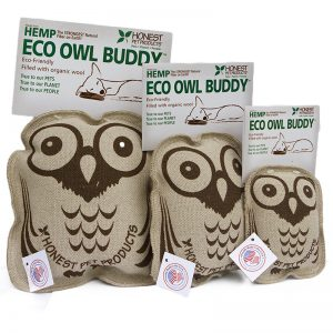 EarthHero - Eco Owl Buddy Dog Toy - 1
