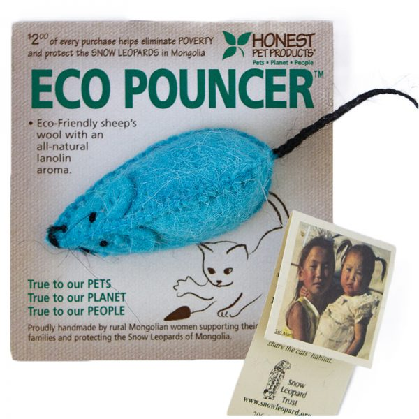 EarthHero - Eco Pouncer Cat Toy - Blue