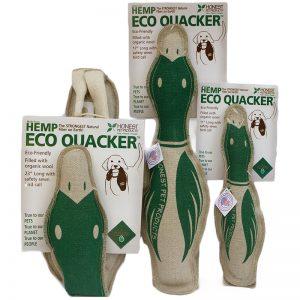 EarthHero - Eco Quacker Dog Toy - 1