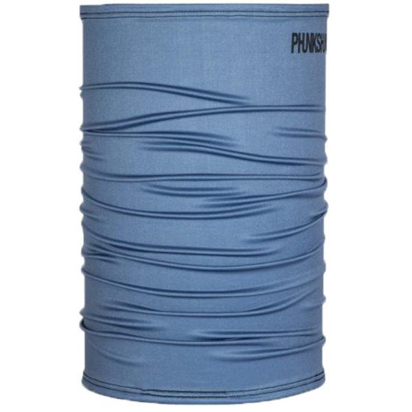 EarthHero - Phunkshun Wear Solid Neck Tube Blue Slate - 1