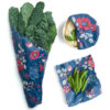 EarthHero - 3 Pack Assorted Beeswax Wraps - Boanical Blue
