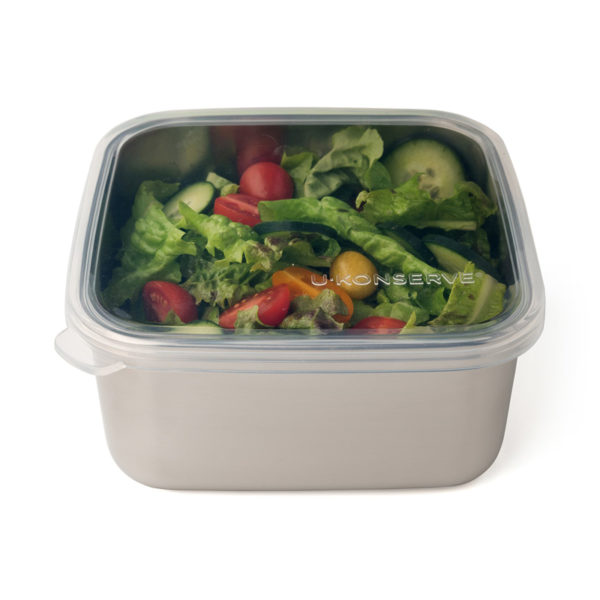 EarthHero - Stainless Steel Large Clear To Go Food Storage Container - 50oz 1