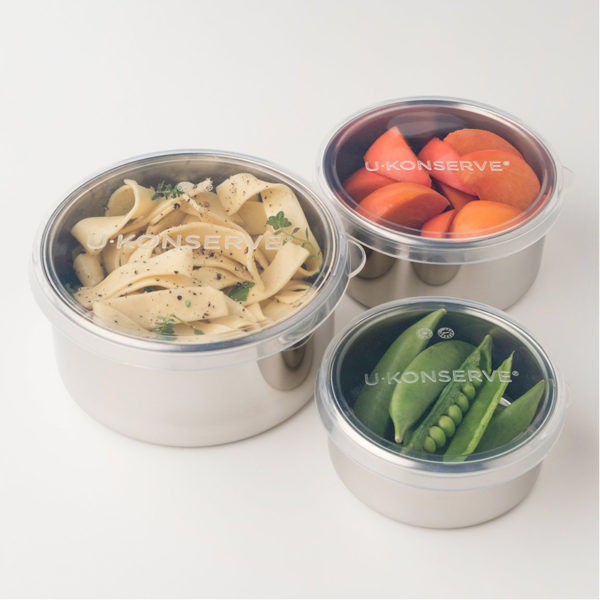 EarthHero - Stainless Steel Round Medium Clear To Go Food Storage Container - 9oz 2