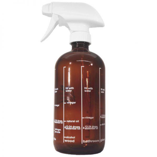 EarthHero - Amber Glass Spray Bottle 16oz - 1