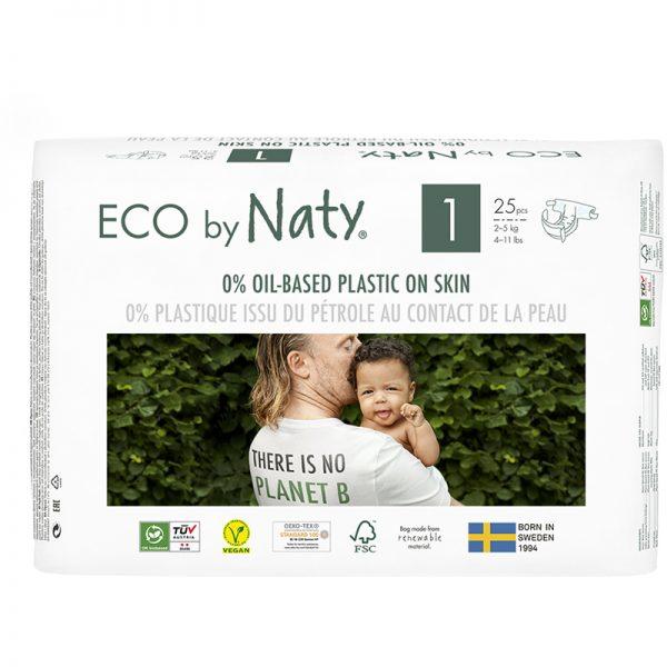 EarthHero - Eco By Naty Size 1 - 2