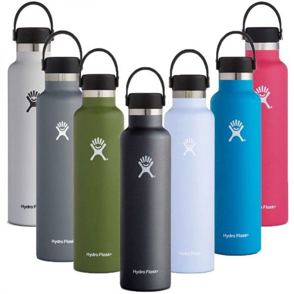 EarthHero - Hydro Flask Standard Mouth Water Bottle 24oz - 1