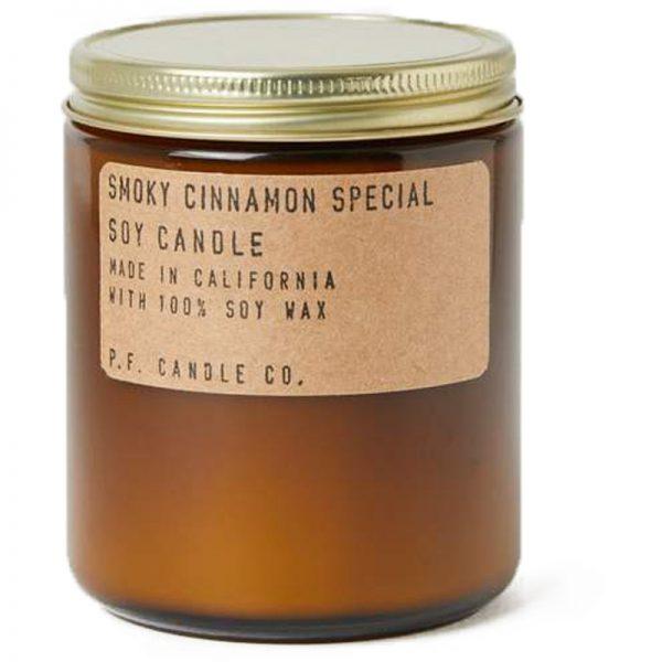 EarthHero - Smoky Cinnamon Soy Candle 7.2oz - 1