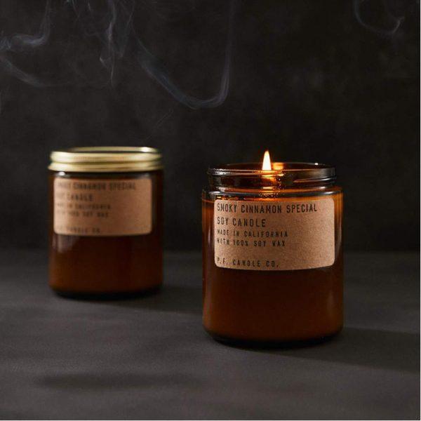 EarthHero - Smoky Cinnamon Soy Candle 7.2oz - 2