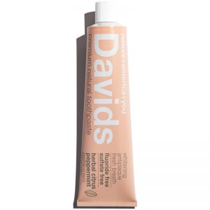 EarthHero - Davids Herbal Citrus Peppermint Natural Toothpaste - 1