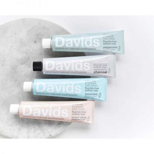EarthHero - Davids Spearmint Natural Toothpaste - 5