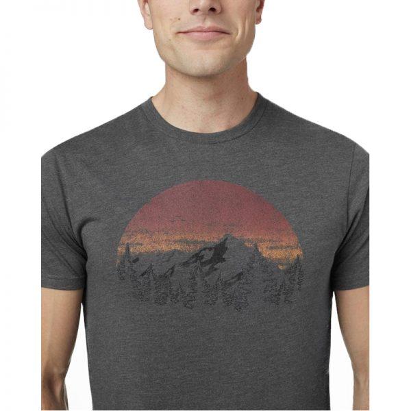 EarthHero - Vintage Sunset Men's T-Shirt - 2