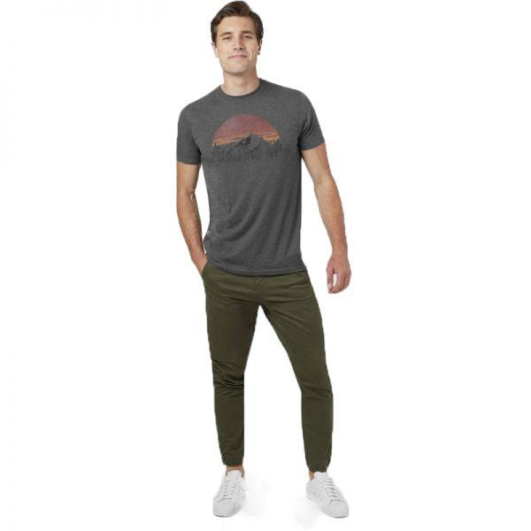 EarthHero - Vintage Sunset Men's T-Shirt - 3