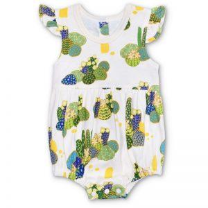 EarthHero - Joshua Tree Flutter Sleeve Baby Romper