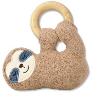EarthHero - Sloth Plush Teething Toy