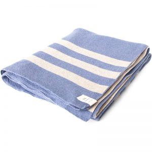 EarthHero - Cumberland Blue Throw Blanket - 1