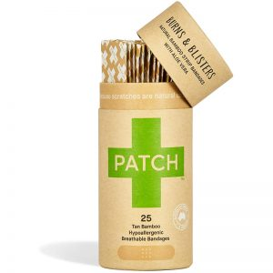 EarthHero - Aloe Vera Bamboo Bandages 25ct - 1