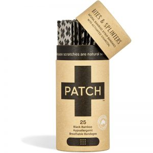 EarthHero - Charcoal Bamboo Bandages 25ct - 1