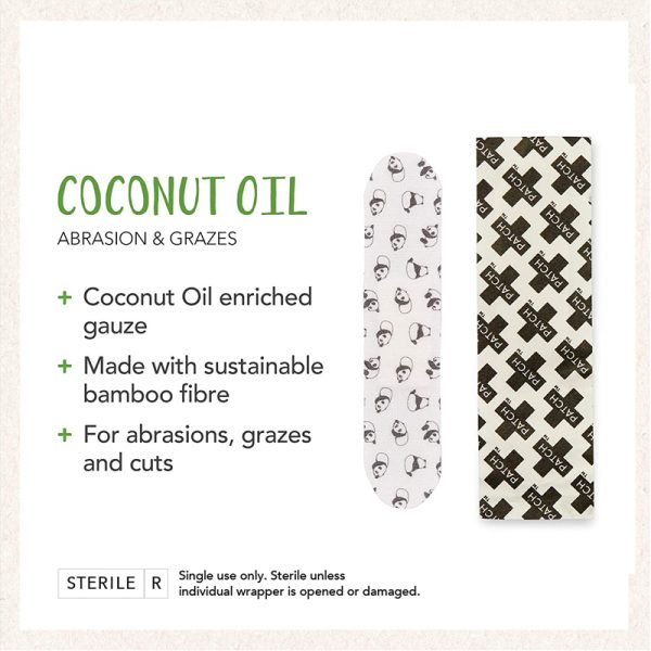 EarthHero - Coconut Oil Bamboo Bandages 25ct - 2