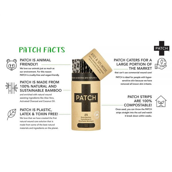 EarthHero - Coconut Oil Bamboo Bandages 25ct - 6