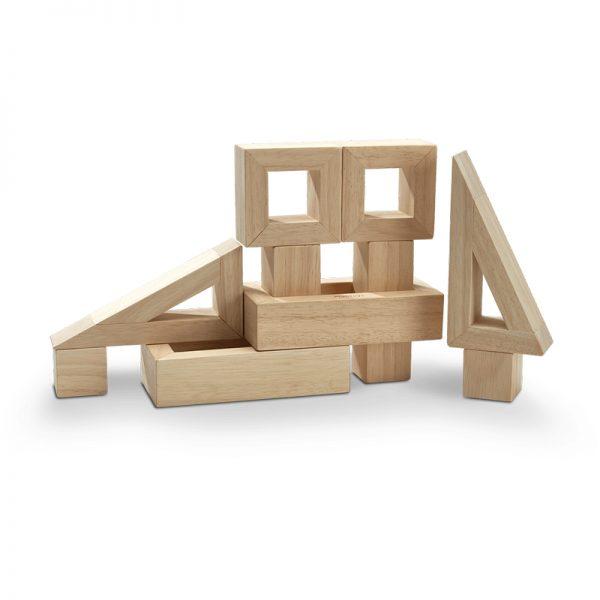 EarthHero - Hollow Wooden Toy Blocks - 1