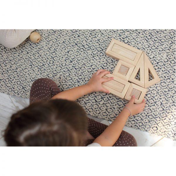 EarthHero - Hollow Wooden Toy Blocks - 3