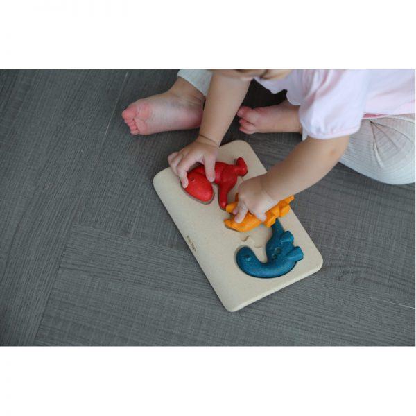 EarthHero - Dinosaur Kids Puzzle - 4