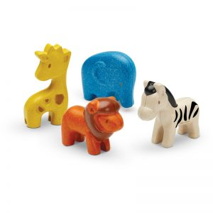 EarthHero - Pretend Play Wild Animal Set - 1