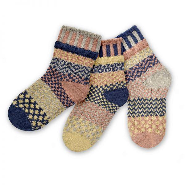 Pearl Solmate Kids Crew Socks