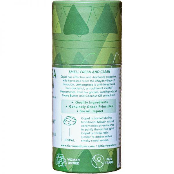 EarthHero -Copal & Lemongrass Natural Deodorant -2