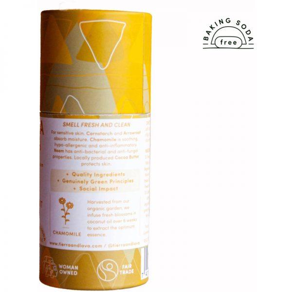 EarthHero -Chamomile & Neem Natural Deodorant -2